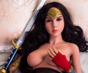 TPE Wonder Woman sex doll